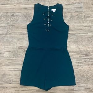 Xhilaration I Sleeveless Romper with Pockets